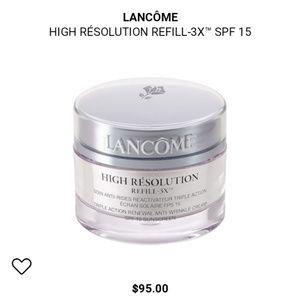LANCÔME High Resolution Refill -3X Brand New